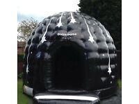 Bouncy castle, domes, bounce & slides