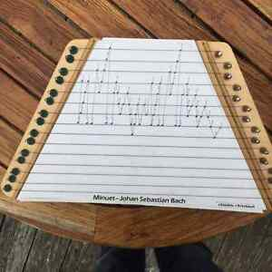 Music Maker Lap Harp : PLAY SONGS INSTANTLY