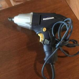 MasterCraft    Impact Wrench (corded) -  STRONG - NEW!