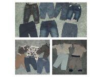 Massive bundle of baby boy clothing 0-3 months up to 3-6 months