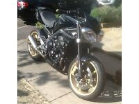 Triumph Street Triple R 675cc 2011 with Many extras and in immaculate condition.