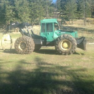 1995 Timberjack 450C Grapple Skidder