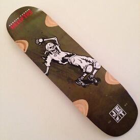 Jet Skateboards -Sergio Yuppie 8.7 Slide To Die - deck only, brand new