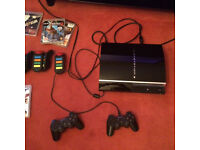 PS3 - Very Good Condition with 2 Controllers and Game Bundle