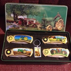 Tractor Knife Set