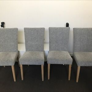 4 scotch Guarded dining chairs Rozelle Leichhardt Area Preview