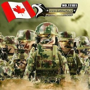 Call of duty! FALCON COMMANDOS Heavy Fire Weapons Tactics,Lego