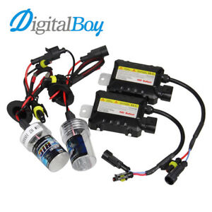 D4S And H11 HID 6000K Light Bulbs + Ballast (Pair of Ea)