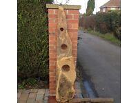 Sandstone garden ornament feature - Reduced