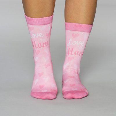 Spezial Damen Socken WIGGLESTEPS Funktionssocken (One Size 36/40) - Love you