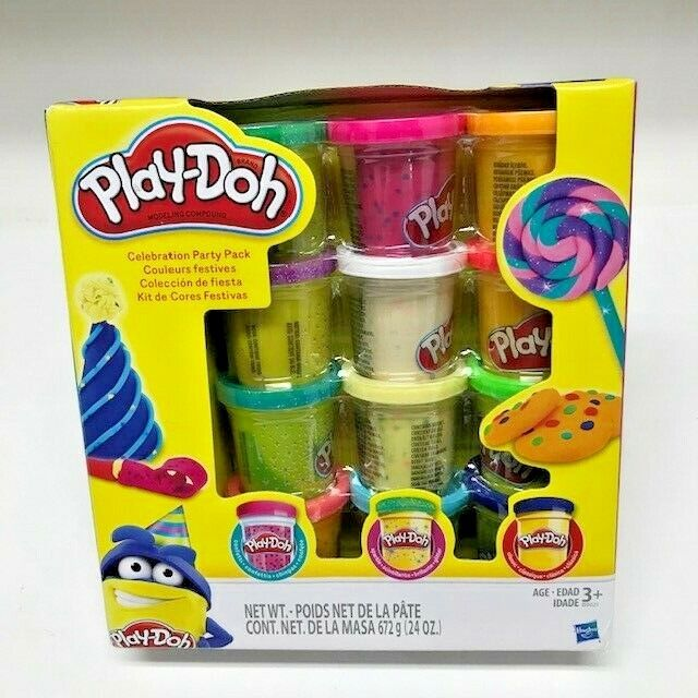 Play-Doh Modeling Compound 10-Pack Case of Colors, Non-Toxic