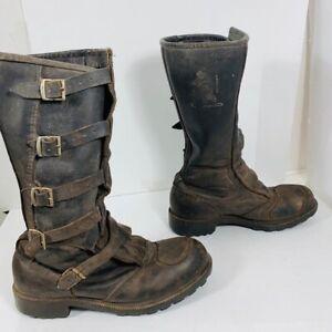 *ENDURO - motorcycle  boots - bottes de moto - men size 10 US*