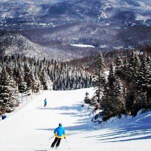 Chambre à louer à Mont-Tremblant 5 min. des pistes de ski.