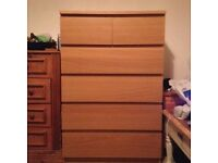 Ikea Malm Chest of 6 drawers - DELIVERY AVAILABLE