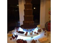 Chocolate fountain, Candy floss, Popcorn, Bouncy castle , sweet cart, hot dogs, nachos hire