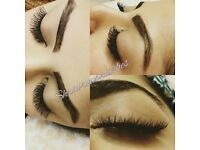 Eyebrows threading & Eyelash extensions