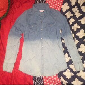Brand new jean shirt size small