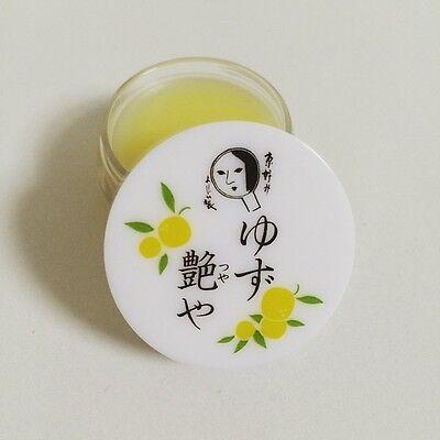 F/S Yojiya Yuzu Tsuyaya Citron Gloss Lip Cream 8g made in Japan from Kyoto
