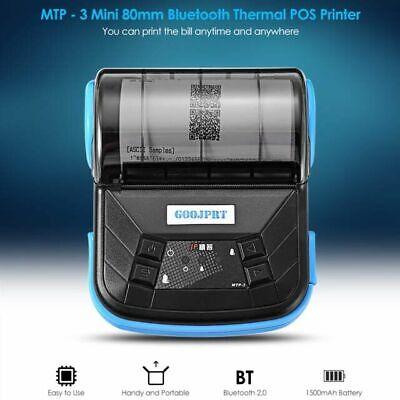 Goojprt Wireless Bt 80mm Pos Esc Thermal Label Bluetooth Receipt Printer Us N3y4