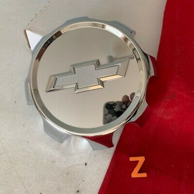 #Z 1) 2018-20 CHEVROLET SILVERADO 2500 3500 OEM Chrome CENTER CAP 84307949