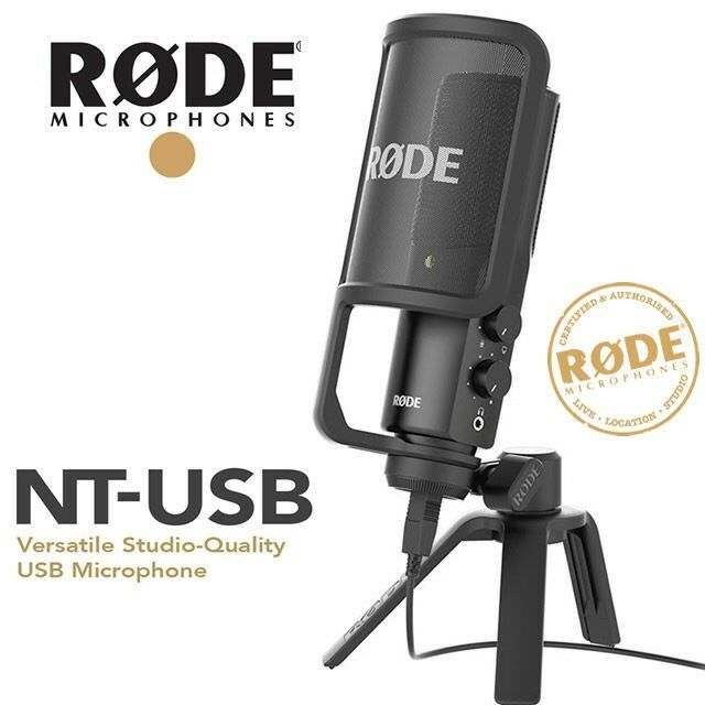 Rode NT-USB Microphone (Almost Brand New)  b17a3c3803b6