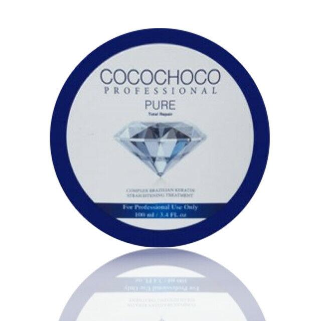 COCOCHOCO Keratin Pure 100 ml Haarglättung Behandlung Haar Pflege ohne Parabene
