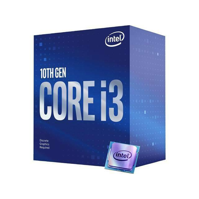 Intel Core i3-10100F 4-Core Comet Lake Processor 3.6GHz 8GT/s 6MB LGA 1200 CPU