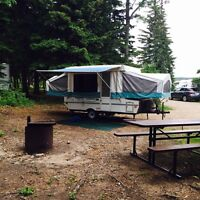 2001 12' Rockwood Freedom tent trailer for sale
