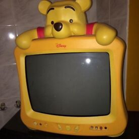 Free tv, dvd-player and toys