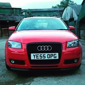 "Audi A3 Sport, 1.9 TDI, Diesel, 3dr ""55"" Plate"