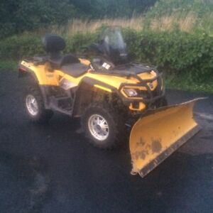 LIKE NEW   2010 Can-Am Outlander 650