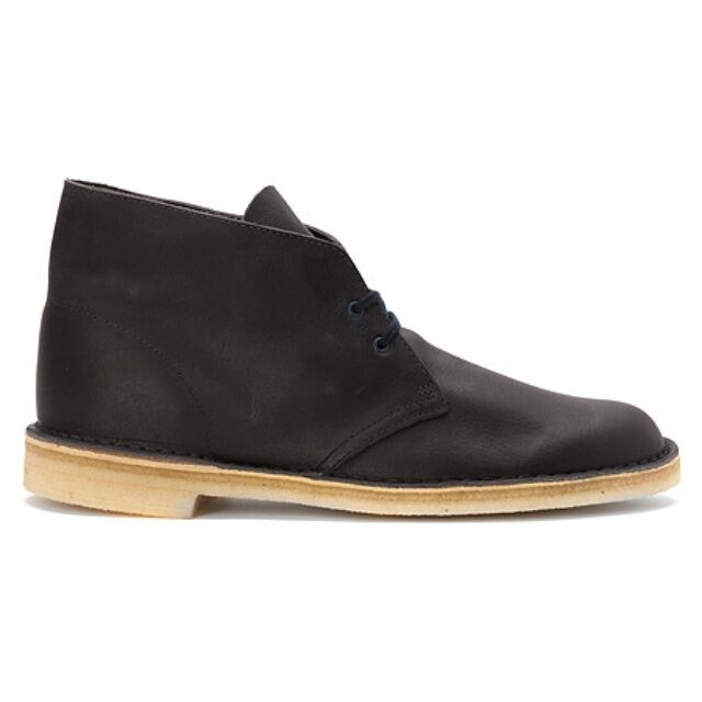 Clarks Desert Boot Originals Men's Leather Navy Color  New Style# 26112780 1