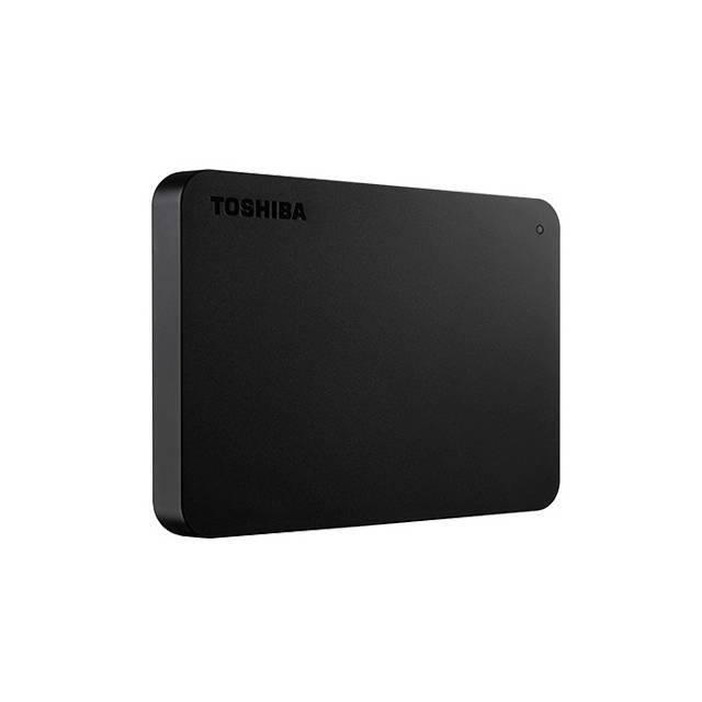 Toshiba Canvio 1TB External USB 3.0 Portable Hard Drive Black HDTB410XK3AA