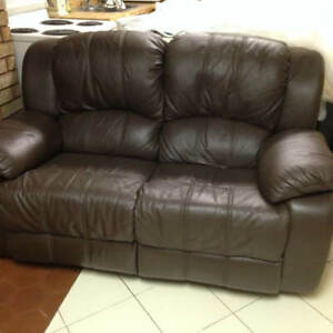 Recliner Loveseat - Leather