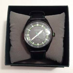 Men's Citizen Eco-Drive Leather Strap Watch Rockdale Rockdale Area Preview