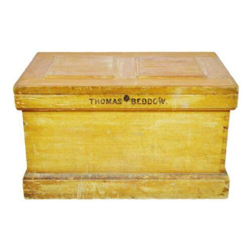 Early Storage Trunk Chest Family Trunk Carpenters Chest