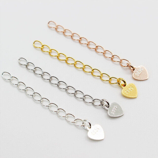 5cm 2 s925 sterling silver extension chain