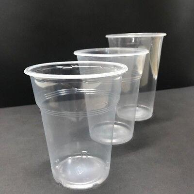 100 -1000 Bierbecher 0,3l 0,4l 0,5l Trinkbecher Einweg Plastikbecher  Kunststoff ()