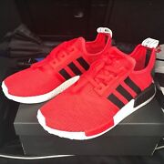 Adidas NMD red knit US size 9 Ryde Ryde Area Preview