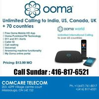 Ooma Phone | Long distance  $9.99 Canada wide $3.99