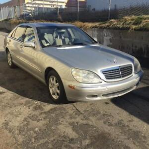 2001 Mercedes Benz S500 *Second Owner, Low Kms, Open to Trades*