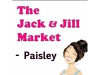 The Jack and Jill Market Paisley Saturday 28th April 2018