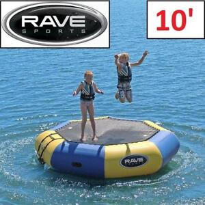 NEW RAVE SPORTS BONGO WATER BOUNCER 02011 183243651 INFLATABLE 10'