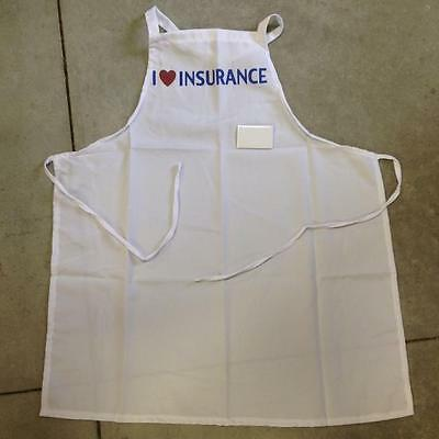 Flo Insurance Lady Apron and Name Tag Costume NEW