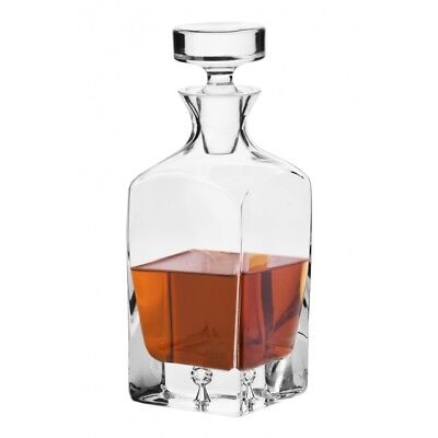 Crystal Glass Whisky Decanter 750ml Brandy Liqueur Sherry Scotch Carafe Gift New Crystal Brandy Glass