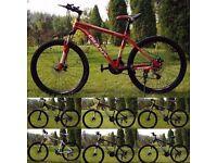 "RED 2016 Giant Atx Mountain bike ""NEW"" boxed 26""1.95 Medium Size Aluminum Alloy"