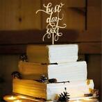Taarttopper - BEST DAY EVER (Feestartikelen, Decoratie)