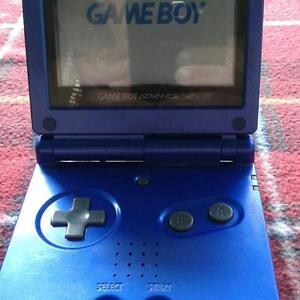SALE!!! Nintendo game boy advance SP cobalt blue