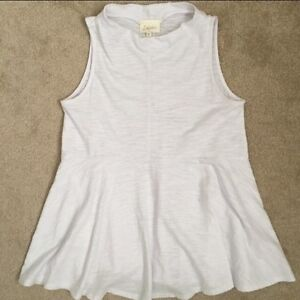 ANTHROPOLOGIE WHITE TANK TOP-BRAND NEW!