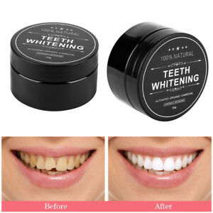 Charcoal Activated Natural Teeth Whitening Powder